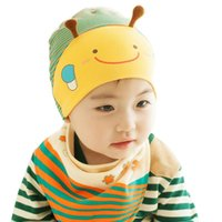 Wholesale Newborn Photography Bee - 2017 Hot Baby Photography Props Cute Kid Baby Boy Girl Toddler Infant Hat Bee Baseball Cap Cotton Kids Hats 2105023