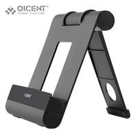 Wholesale Dock Telephone - Wholesale- QICENT Universal Adjustable Aluminum Desk Stand Holder Mount Dock For iPad Pro 12.9 9.7inch Tablet support de telephone portabl