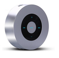 Wholesale Smallest Stereo Speakers - Mini Stereo Outdoor Portable Speakers Small Steel Gun Speakers Keling A8 Bluetooth Speaker TF Card Subwoofer Wireless Speakers For Iphone