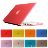abs cover case оптовых-Для Macbook 11.6 12 13.3 15.4 Air Pro Retina Touch Bar кристально чистые случаи полный защитная крышка чехол бесплатно DHL