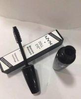 Wholesale Black Dolls Eyes - Latest NYX DOLL EYES Mascara Waterproof Hydrofuge Black Mascara Eyes nyx mascara Makeup Cosmetics