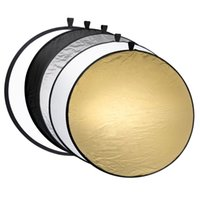 Wholesale Disc Carrying Case - Wholesale- Gosear Portable Collapsible Round 60cm Camera Lighting equipment Photo Disc Reflector Diffuser Kit Carrying Case Photography