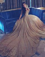 berta gece elbiseleri toptan satış-Yeni Arapça Backless Mermaid Abiye Berta Gelinlik Modelleri Çin Tarzı Sequins Sevgiliye Için Ucuz Abiye giyim Yağ