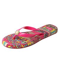 Wholesale Massage Slippers For Women - 2017 Casual Beach Women Slipper Sandals New design Summer Home Massage Flat Flip-Flops Shoes for Female