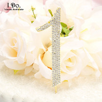 Wholesale Silver Numbers Cake Topper