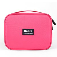Wholesale Hot Bags Store - Wholesale- 2016 Hot Sale Women Cosmetic Bags Makeup Organizer Bag Travel Organizer Case with Handle Necessaries Store Bag