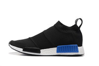 Wholesale Cheap Socks For Sports - 2017 Cheap Wholesale NMD City Sock 2016 Men's & Women's Discount Online For Sale Classic Cheap Fashion Sport Shoes With Original Box