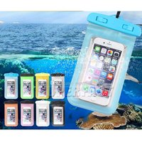 Wholesale Lg Smartphone Covers - Universal For iPhone 8 Galaxy Note 8 Waterproof bag Cover Cellphone Waterproof Dry Bag for Smartphone 5.7 inch diagonal with OPP Bag
