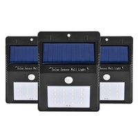Wholesale Panel Fencing - 12 LED Bright Solar Panels Lamp Outdoor Garden Motion Sensor Activated Solar Power Lights For Patio Fencing Waterproof Path Lighting