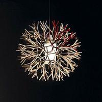 Wholesale Coral Pendant Light - Modern Pendant Lights Fashion Coral Ball Shape Pendant Lamp Black Simple Dining Room Study Lighting Decor