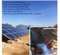Wholesale Solar System For Hot Water - 2017 year very hot sale ,1.1KW 3 Phase 60Hz Solar Water Pumping System for swimming pool