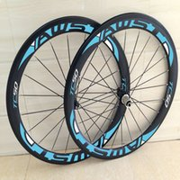 Wholesale Cheap 12 Bicycle - Hot sale china cheap road bike carbon wheels 3k Twill black bicycle carbon wheels 23mm clincher bike in wheels free shipping