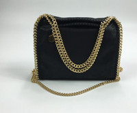 Wholesale Multi Color Pictures - High quality 25CM luxuy falabella Stella MC flap shoulder bag lady crossbody shoulder bag 100% real picture