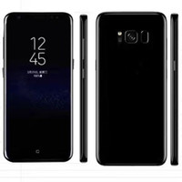 Wholesale Quad Core Qhd - Real 6.2 inch S8+ S8 plus s8 edge smartphone 1G 8G show 4G LTE Octa Core 3GB 64GB 720*1440 QHD Android 7.0 Camera GPS WiFi Smart Phone