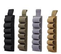 Wholesale Magic Holster - 800D Nylon Hunting Tactical 6 Rounds Shell Holder Multi Purpose Pouch 12 Gauge Ammo Carrier Magic Paste Holster