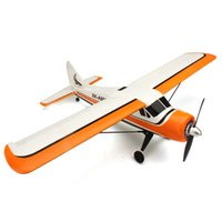 Wholesale Futaba Channel - Wholesale-XK DHC-2 DHC2 A600 5CH 3D6G Brushless RC Airplane Compatible Futaba BNF