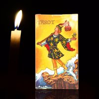 Wholesale Tarot Card Wholesale - Wholesale- radiant rider-waite tarot cards Full English factory made high quality tarot card with colorful gift box, cards game, board game