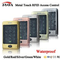Wholesale Waterproof Door Access - 5YOA RFID Access Control Waterproof 125KHZ Touch Keypad Door Access Control System with KDL Metal Case Shell Backlight Keypad