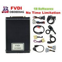 Wholesale Porsche Fvdi - FVDI 2014 2015 Full Version (Including 18 Softwares) FVDI ABRITES ABRITES Commander Without Limited FVDI Diagnostic Scanner