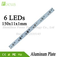 Wholesale Grow Lights 3w 5w - Wholesale 100Pcs lot 1W 3W 5W Aluminum Plate 150mm PCB With 1 3 5 Watt Light Beads Use For DIY Aquarium Lights Grow Light