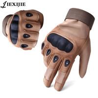 Wholesale Combat Armor - Wholesale- US army tactical Gloves Armor for Men Protection Gloves Combat Glove Slip-resistant Carbon Fiber Mittens jxj-142