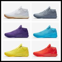 Wholesale Pearl Ad - Hot sales Kobe AD Mid Fearless Top Quality Basketball shoes With Box Kobe Bryant AD Mid shoes free shipping US7-US12