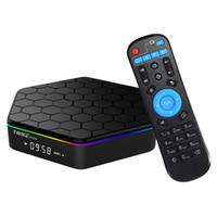 Wholesale Google Tv Hdmi Wifi Bluetooth - T95Z PLUS Android 7.1 TV BOX Amlogic S912 Octa Core 2G 16G 2.4G 5G WiFi Bluetooth KD17.3 Krypton Fully Loaded