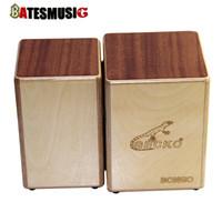 Wholesale birch woods - Wholesale-GECKO Cajon BONGO-2 Two Siamese Birch Wood Natural