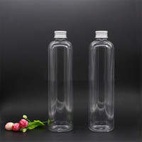 Wholesale beverage bottles wholesale - Food Grade Fruit Juice Bottles Aluminum Cap packing empty PET bottles 500ml beverage plastic bottle hot selling