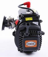Wholesale Rc Cars Fg - 1 5 rc car Rovan 36cc 4 Bolt Motor Gasoline Engine for HPI Baja 5b 5T KM LOSI FG