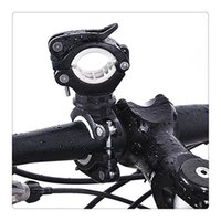 titular de la abrazadera de la linterna al por mayor-Ciclismo Bicicleta Luz de la Bicicleta Soporte de La Lámpara 360 ° Rotación Grip LED Linterna Abrazadera de la Antorcha Clip de Montaje Accesorios de Montaje Envío Gratis