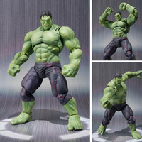 Wholesale Dolls Heroes - NEW hot 22cm avengers Super hero hulk movable action figure toys Christmas gift doll haoke15 free shipping