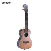 """Wholesale Concert Ukelele - Wholesale- ammoon 24"""" Korean Pine Acoustic Concert Ukulele Ukelele Uke Wooden 18 Frets 4 Strings Okoume Neck Rosewood Fretboard"""