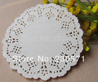 Wholesale Card Making Patterns - Wholesale-5.5Inch Vintage White Hollowed Lace Pattern Paper Crafts for DIY Scrapbooking Card Making Wedding Decoration