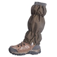 Al por mayor-Deportes al aire libre Legwarmers táctico Gaiters Camping polainas impermeables Walking Mountain Hunting Trekking Desert Snow Leg Cover