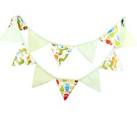 outdoor baby photos - M Flags Blue Cartoon Fabric Decoration Flag Owl Horse Baby Photo Shooting Banner Outdoor Birthday Party Deco Pennant