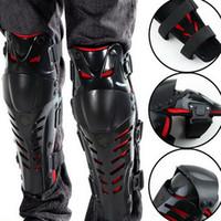 Wholesale Motorcycle Elbow Protector - 1pair Original Motorcycle Motocross Racing motorcycle Knee Protector Knee Guards MX Knee Pads Protective Gears hot selling