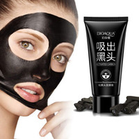 Wholesale Brand Clean - BIOAQUA Brand Face Care Suction Black Mask Facial Mask Nose Blackhead Remover Peeling Peel Off Black Head Acne Treatments 60g