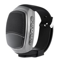 Fábrica direta! B90 Bluetooth Sports Music Watch Portable Mini MP3 Música Bluetooth Assista Speaker TF FM Áudio Rádio Handsfree Speaker