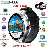 Wholesale Wrist Watch Camera 2mp - 2017 newest Interpad I4 Air Smartwatch Android5.1 2GB 16GB 2MP WIFI 3G GPS Heart Rate Monitor Bluetooth 4.0 MTK6580 Quad Core Smart Watch