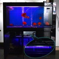 Wholesale Pond Water Filter - 50cm UV Sterilizer Lamp Ultraviolet Filter Water Cleaner 5V USB 2835 LED Strip Bar Light for Aquarium Pond Coral Koi Fish Tank