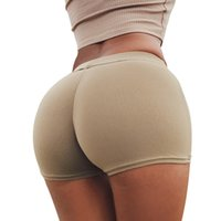Wholesale Buttock Push Up - 2017 New Push Up Sexy Underwear Women Abundant Buttocks Hip High Waist Boxer Briefs Sports Fitness Pants Active Wear ZL3449