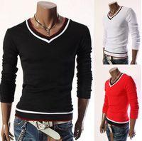 Wholesale Low Quality T Shirts - Lowest Price ! Newest Long Sleeve t shirt Men Tshirt Both Side Print Good Quality Men's 3D tshirts Flower Casual T-shirts