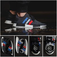 Wholesale Runners Toe - High Qualiyt 2017 Wholesale NMD R1 Primeknit PK Runner NMD x Footlocker NOMAD Womens Mens Sports Running Athletic Sneakers Shoes Size 36--45