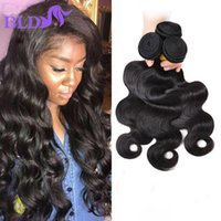 Wholesale Xbl Hair - Unprocessed Brazilian Virgin Hair Body Wave 3pcs Brazilian Hair Weave Bundles XBL Human Hair Body Wave tissage bresilienne