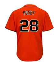 San Francisco # 8 Hunter Pence Großhandel Günstige Baseball Trikots Authentische Hause Straßencreme Grau Orange Cool base Jersey
