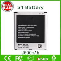s4 baterias venda por atacado-S4 Bateria B600BC B600BE Para Sam S4 IV I9500 9500 I9505 Substituição de Baterias 2600 mAh Direto Da Fábrica Frete Grátis