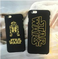 Wholesale Droid Cases - Star Wars The Force Awakens Darth Vader Stromtrooper BB-8 Droid Robot Cases For Iphone 6 6S Plus 5 5S TPU Phone Case Cover