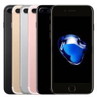 quad cell phone venda por atacado-Remodelado Original da Apple iphone 7 7 Plus com touch ID Desbloqueado Celular 32 GB 128 GB IOS10 Quad Core 12.0MP