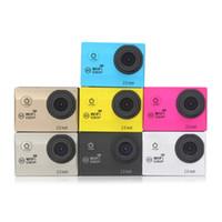 Wholesale hiking camera for sale - Original H16 Ultra HD Action Camera Screen WiFi P D lens Helmet Professional waterproof camera MOQ